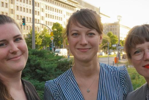 jobentdecker-Team: Eva-Maria Lehmann, Laura Schmeiduch, Pauline Albrecht